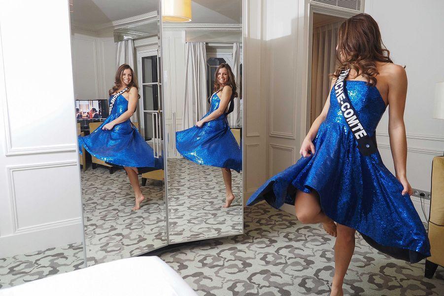 Miss Franche-Comté Coralie Gandelin