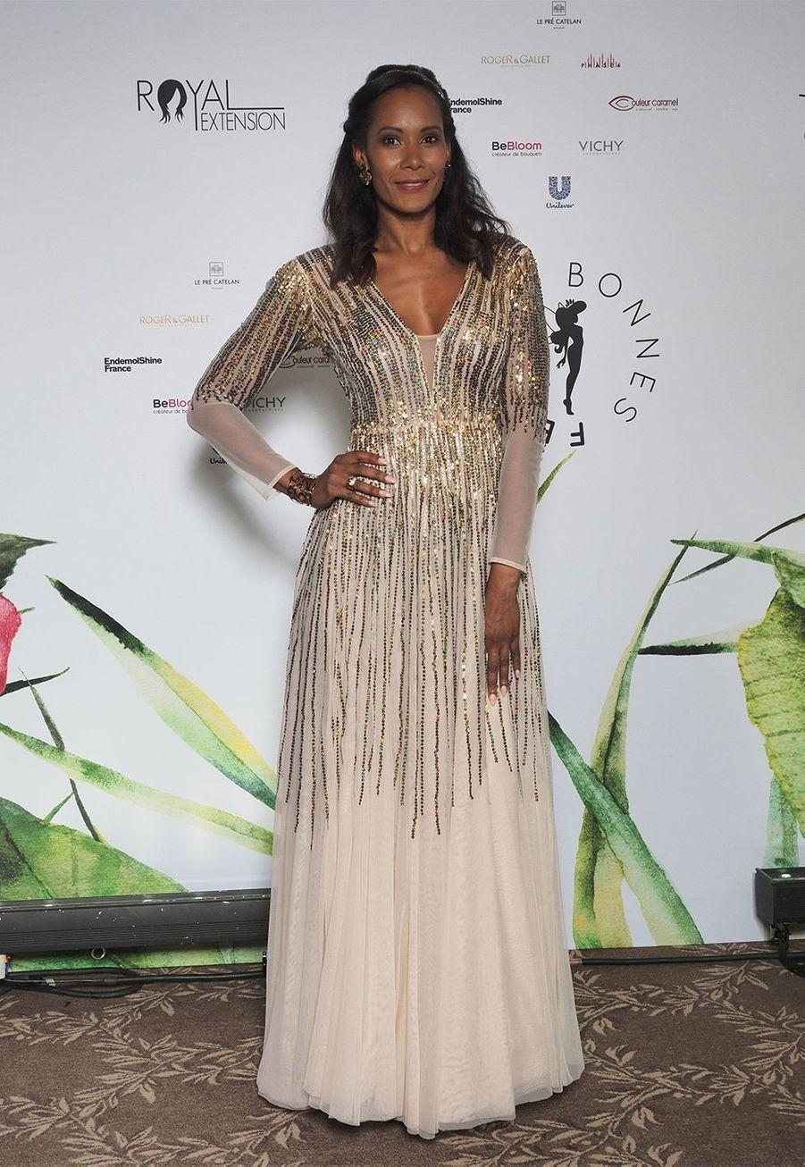 Corinne Coman, Miss France 2003, est maman d'un petit Nelson né en 2013.