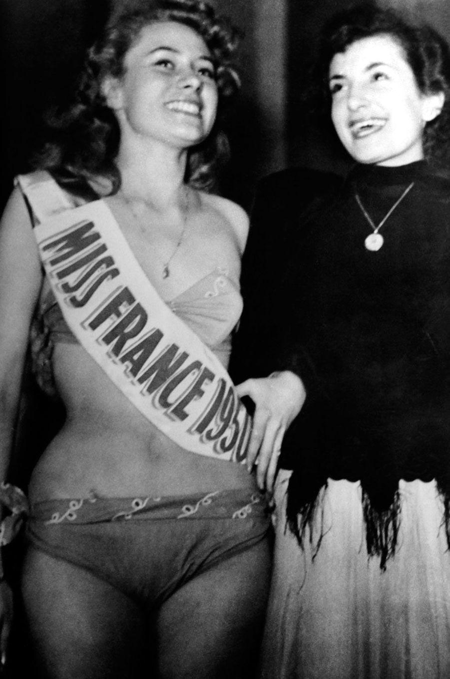 Miss France 1950, Maryse Delort