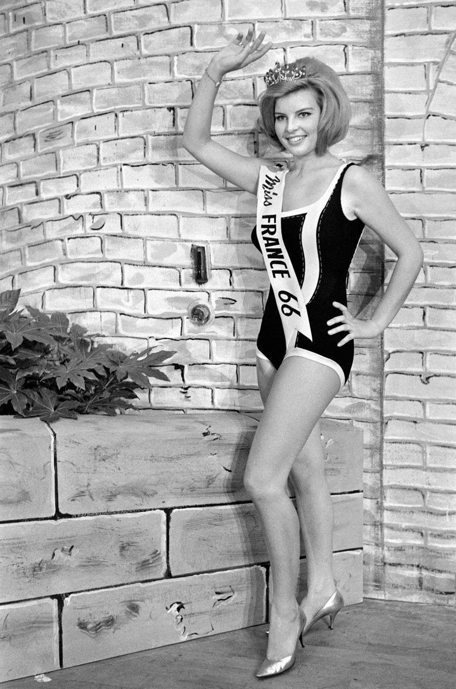 Miss France 1966, Monique Boucher