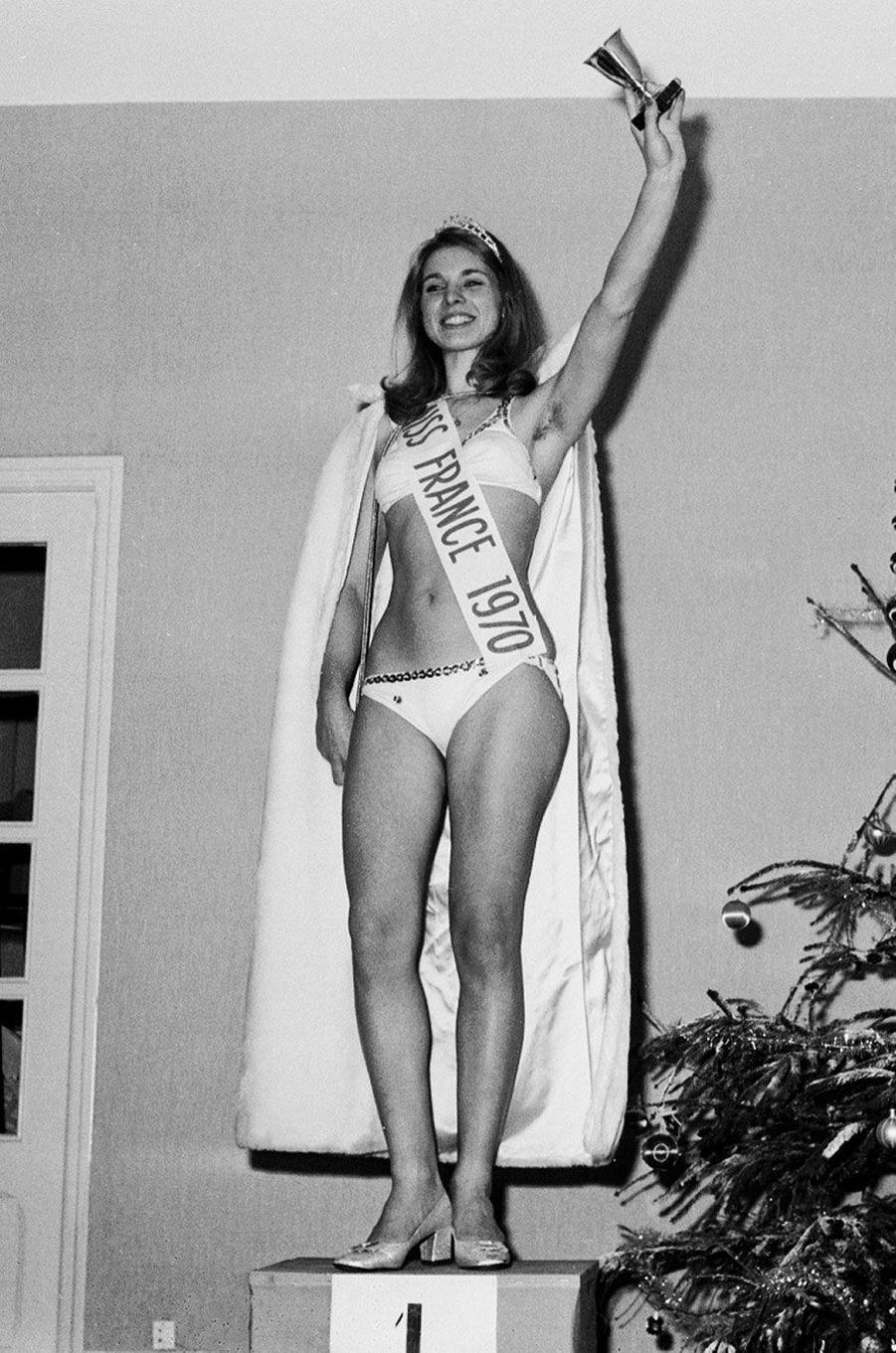 Miss France 1970, Michelle Beaurain