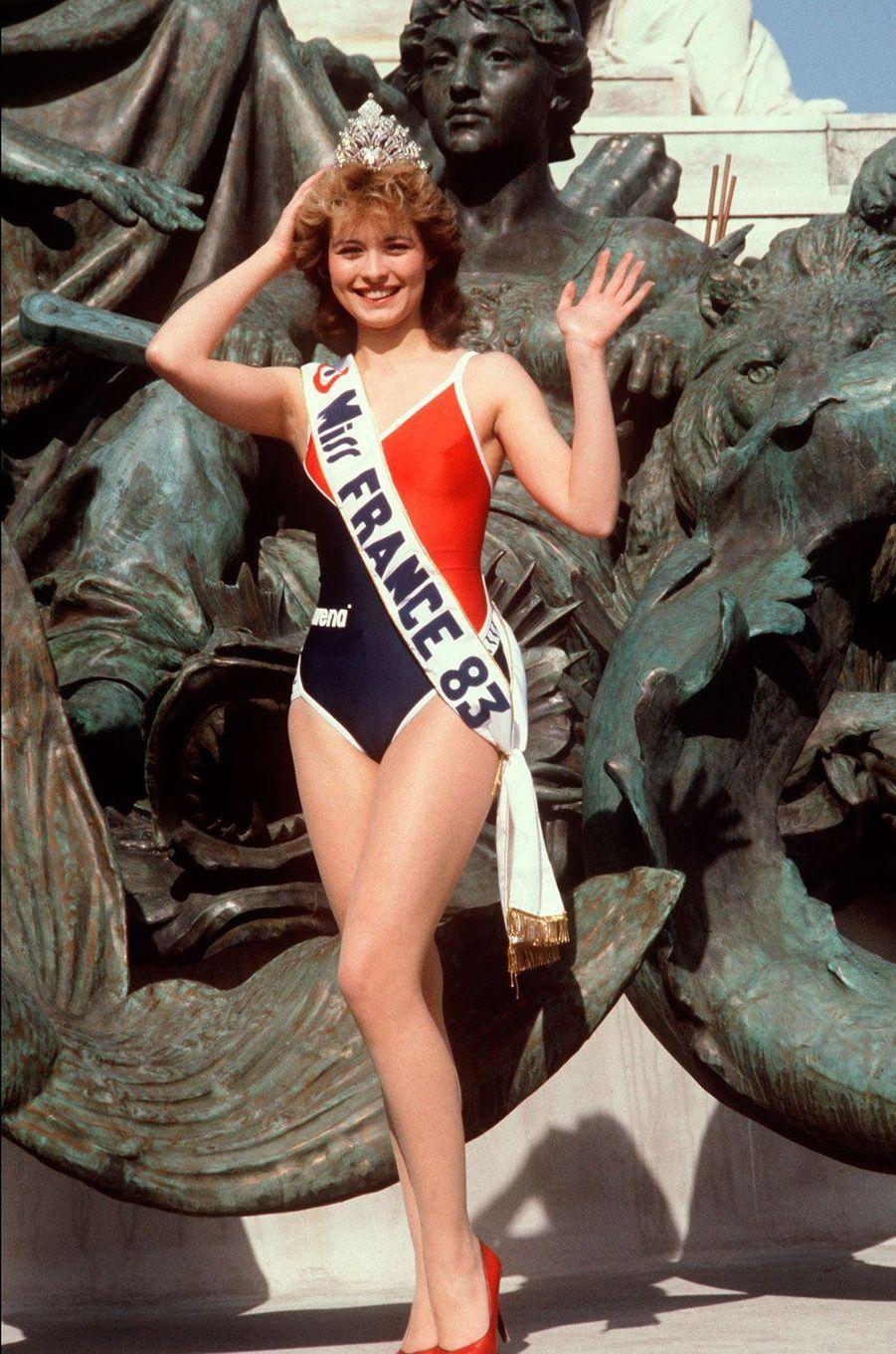 Miss France 1983, Isabelle Turpault