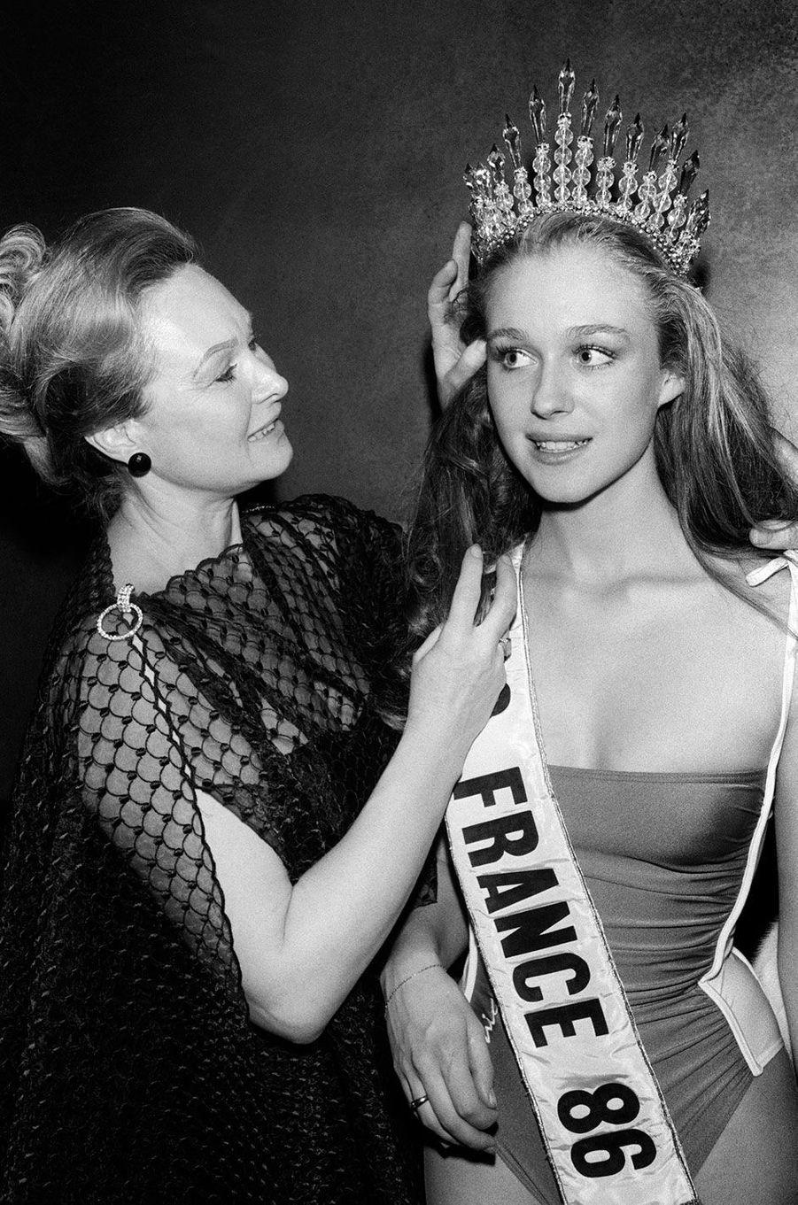 Miss France 1986, Valérie Pascal