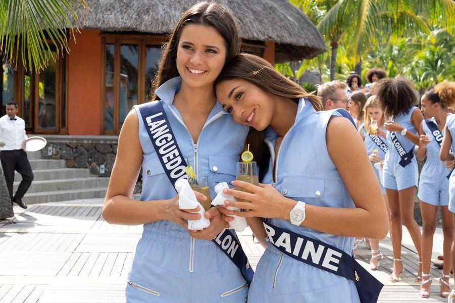 Miss Languedoc-Roussillon, Lola Brengues et Miss Lorraine, Emma Virtz