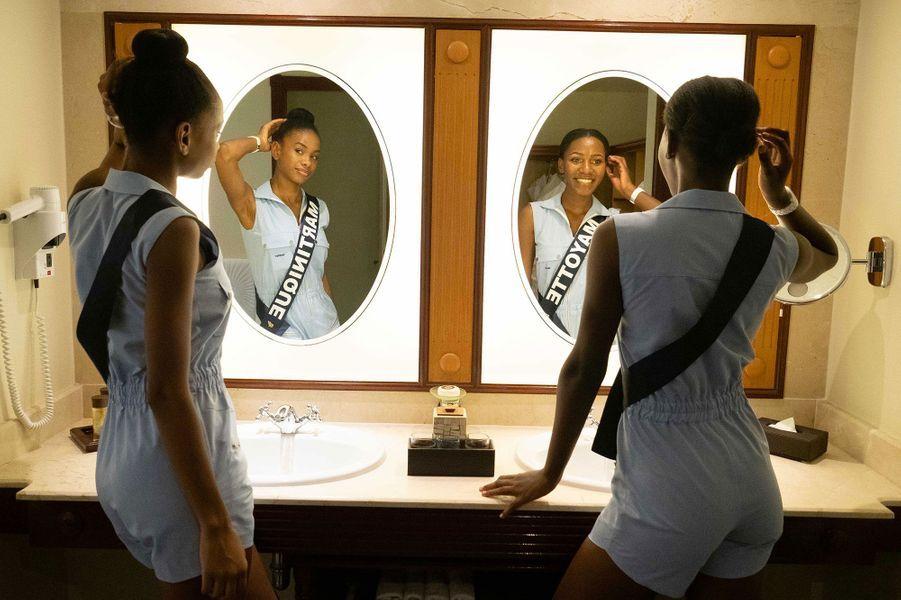 Miss Martinique, Olivia Luscap et Miss Mayotte, Ousna Attoumani