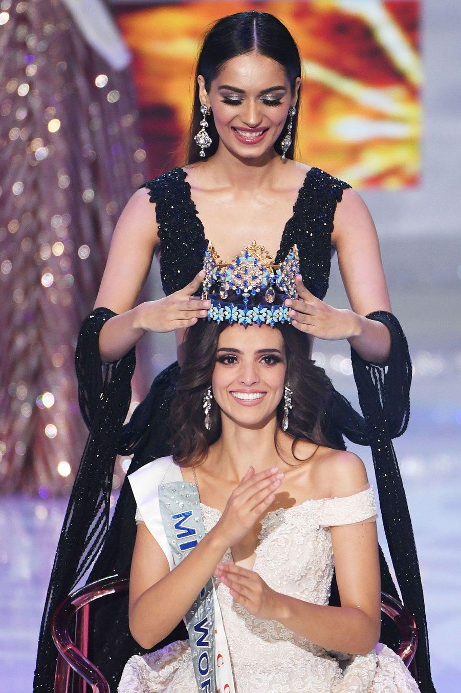 Vanessa Ponce de Leon, Miss Mexique, sacrée Miss Monde le 8 décembre 2018 en Chine