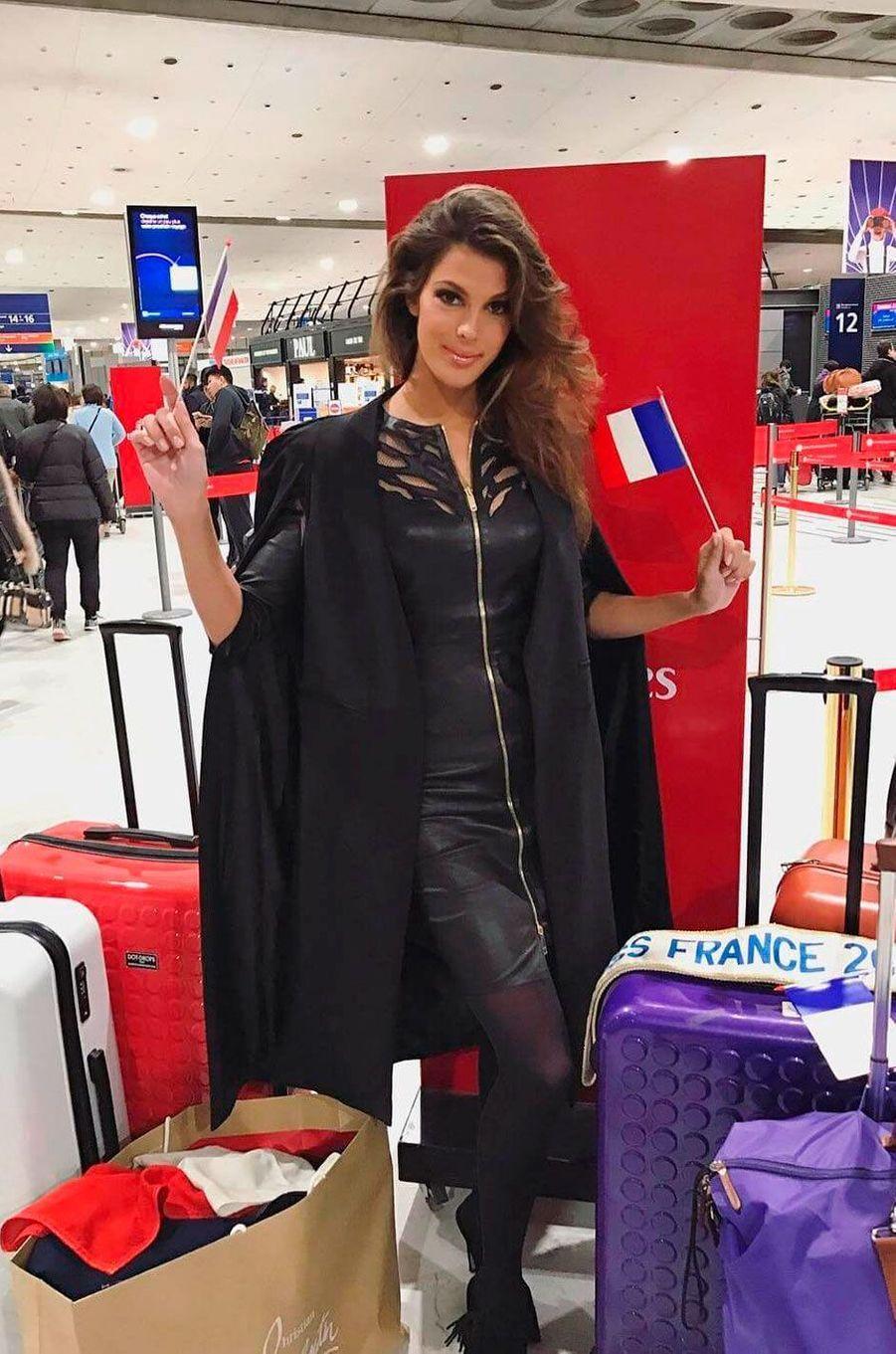 Iris Mitteanere, Miss France 2016 est face à 85 candidates