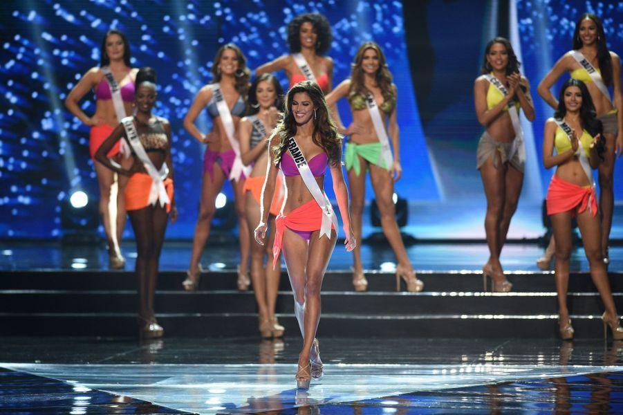 Iris Mittenaere, Miss France 2016 faisait partie des favorites