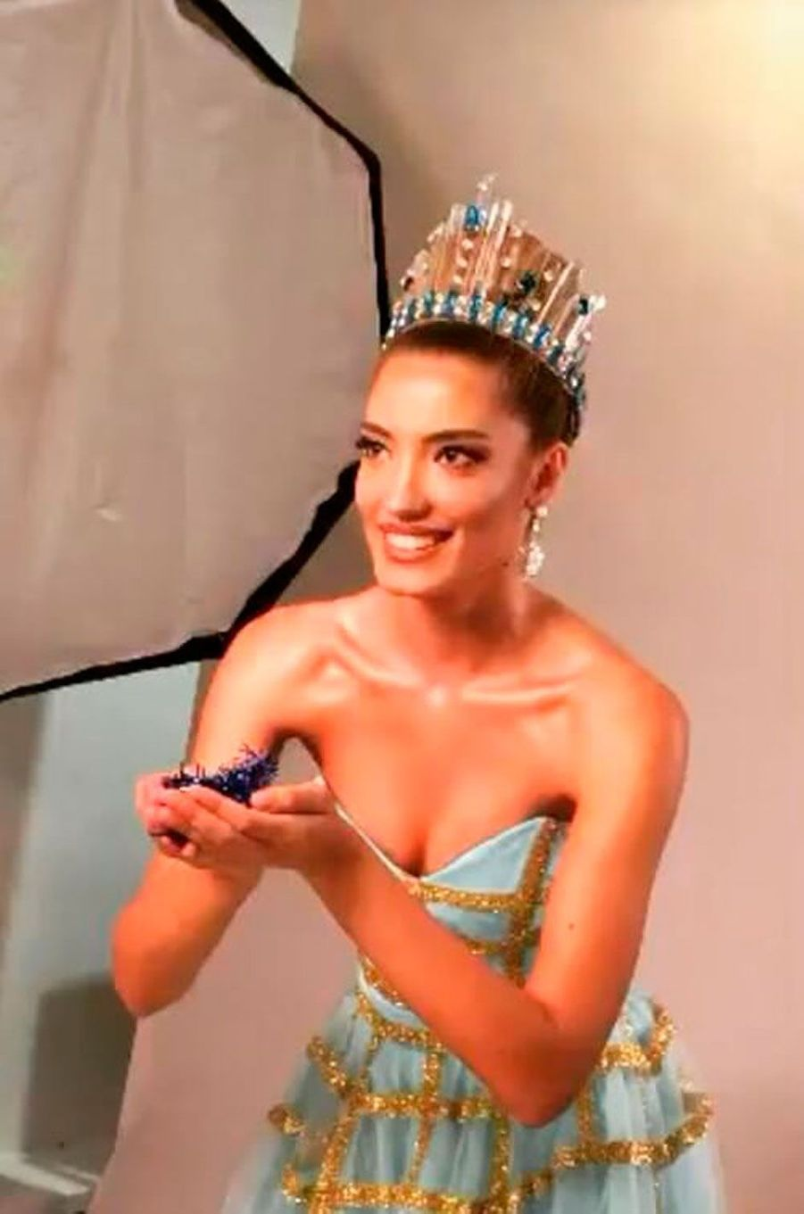 Lindita Idrizi, Miss Albanie