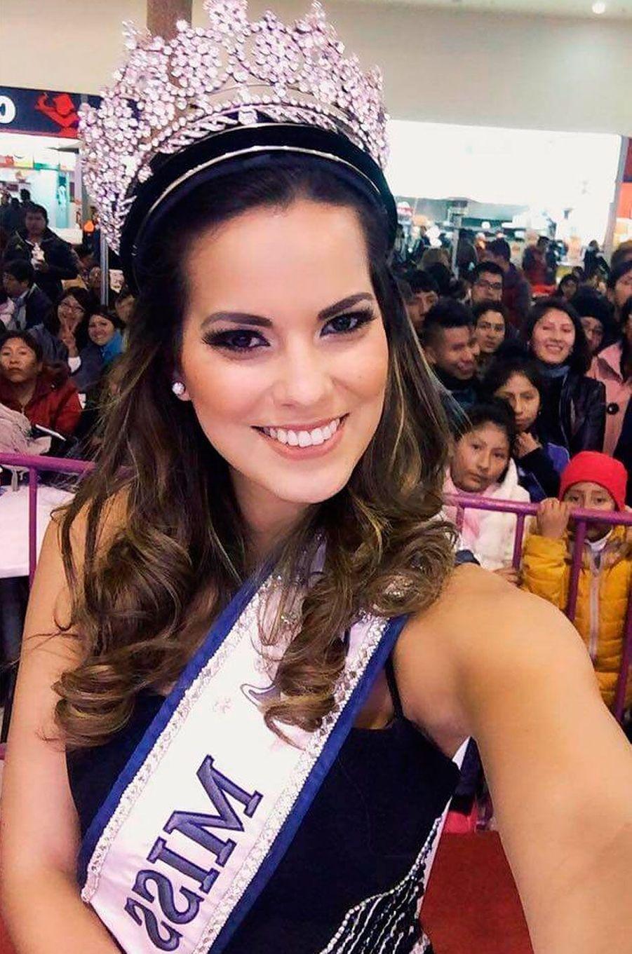 Miss Pérou, Valeria Piazza