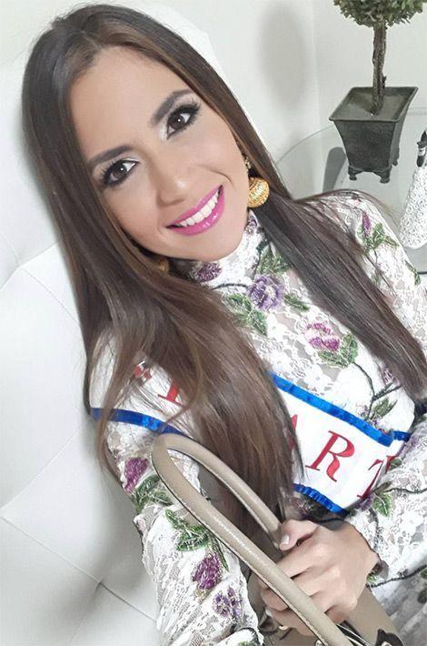 Carmen Múñoz Gúzman, Miss République Dominicaine.