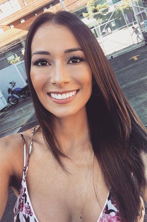Elena Correa, Miss Costa Rica.