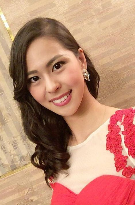 Momoko Abe, Miss Japon.