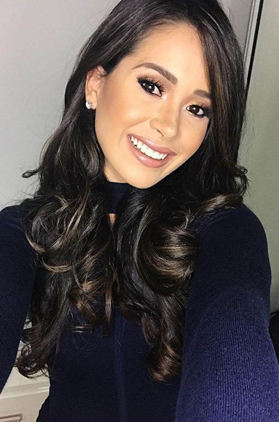 "Danyeshka ""Danna"" Hernández, Miss Puerto Rico."