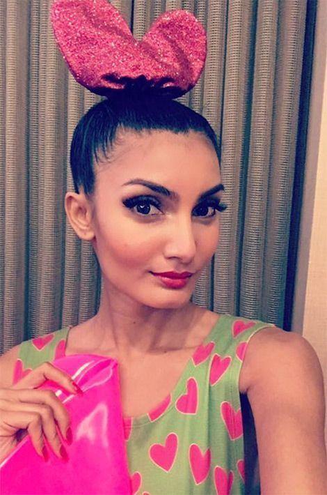 Rafieya Husain, Miss Guyane.