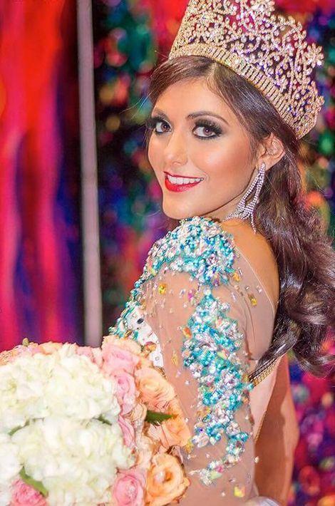 Alisson Abarca, Miss Salvador.