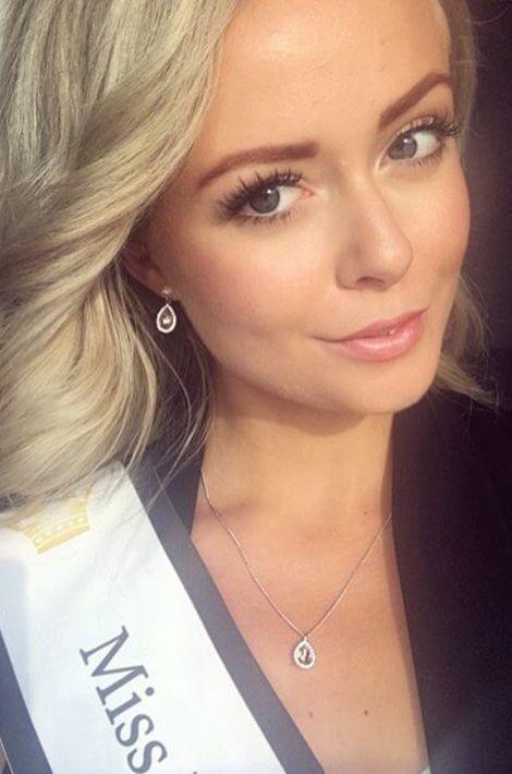 Frida Fornander, Miss Suède 2017.