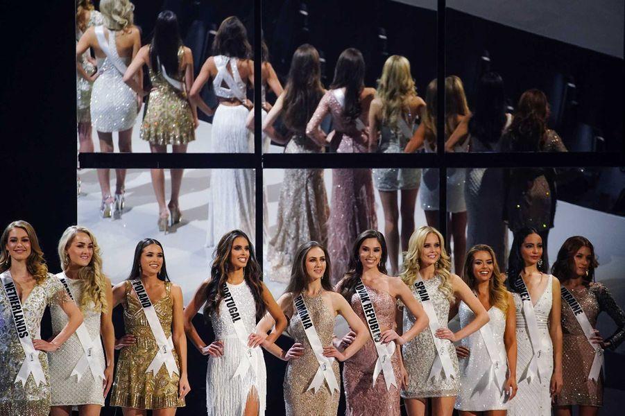 Le concours de Miss Univers s'est tenu dimanche à Atlanta