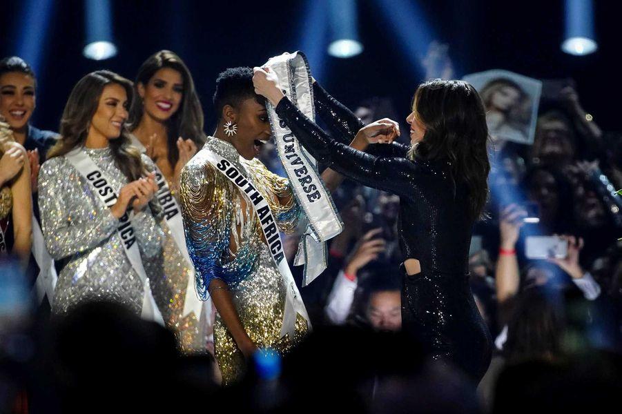 Miss Afrique du Sud, Zozibini Tunzi après son élection
