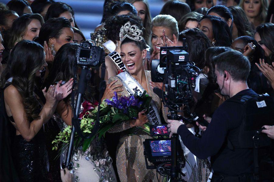 Demi-Leigh Nel-Peters, Miss Afrique du Sud, sacrée Miss Univers