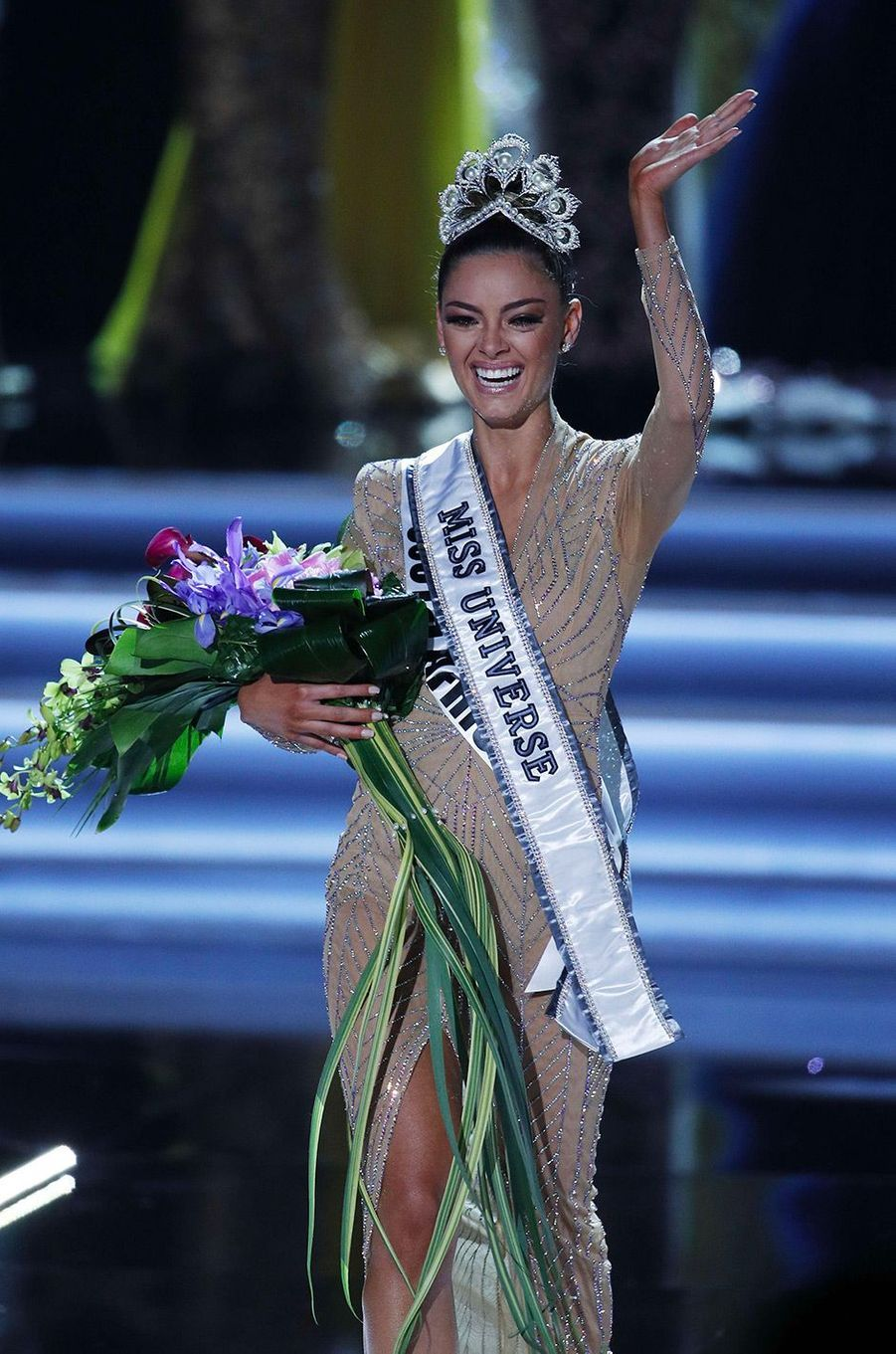 Demi-Leigh Nel-Peters, nouvelle Miss Univers
