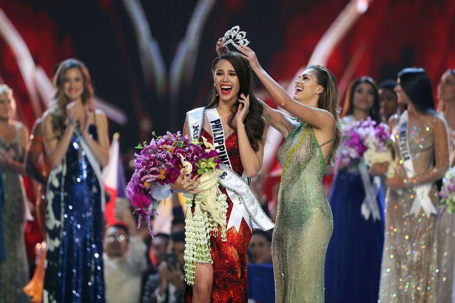 Catriona Gray, MissPhilippines sacrée Miss Univers
