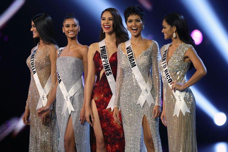 Les Miss sélectionnées dans le Top 5