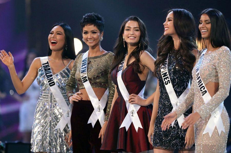 Les Miss sélectionnées dans le Top 20