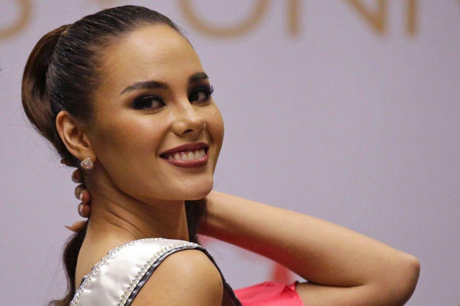 Catriona Gray à Manille, jeudi 20 décembre