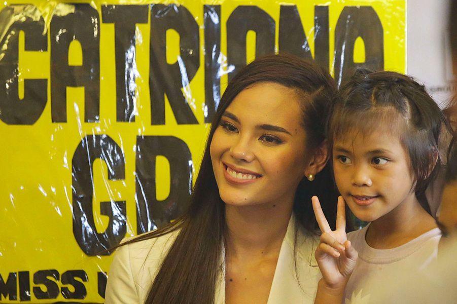 Catriona Gray à Manille, mercredi 19 décembre