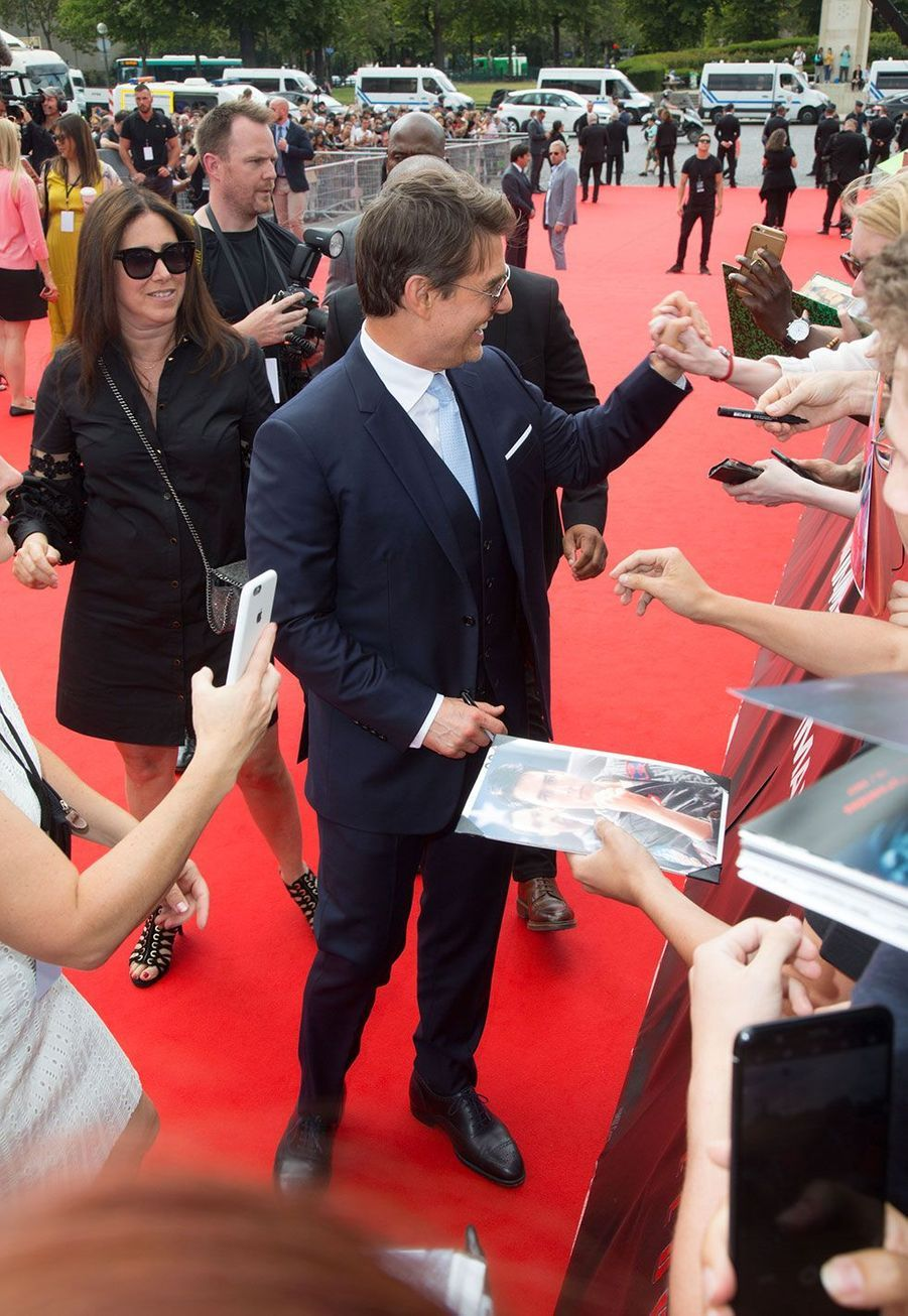 """Tom Cruise à Paris pour l'avant-première de""""Mission Impossible- Fallout"""""""