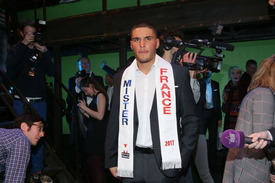 Eloy Pechier, Mister France 2017