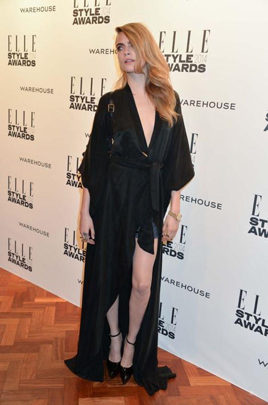Au Elle Style Awards 2014 à Londres en 2014
