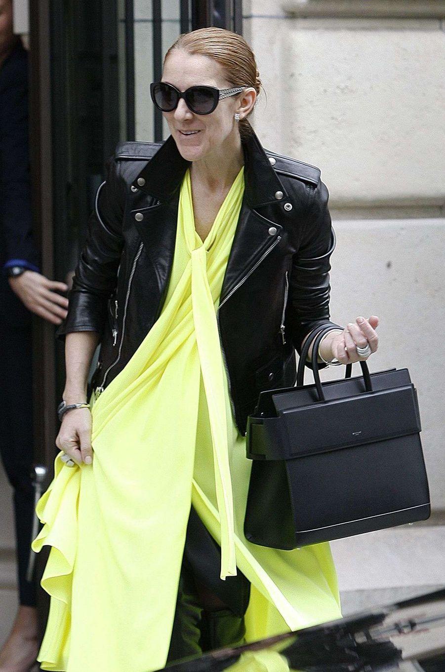 Céline Dion, la fashionista