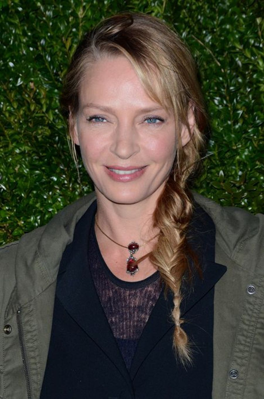 Uma Thurman à New York le 20 avril 2015