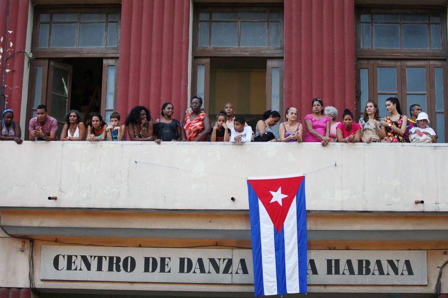 Le défilé croisière Chanel à Cuba