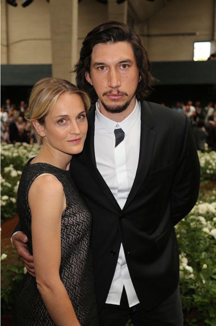 Adam Driver et son épouse Joanne Tucker