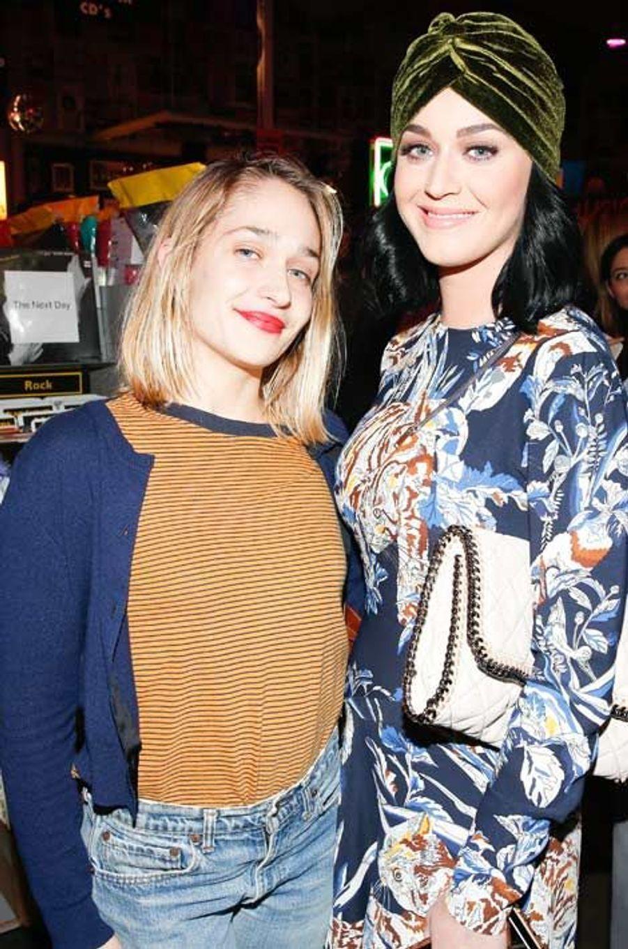 Jemima Kirke et Katy Perry