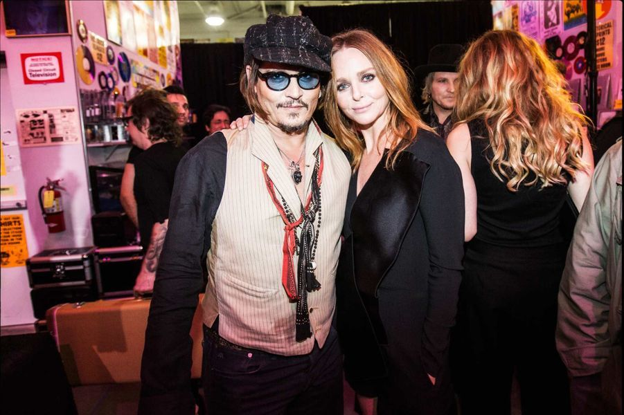 Johnny Depp et Stella McCartney