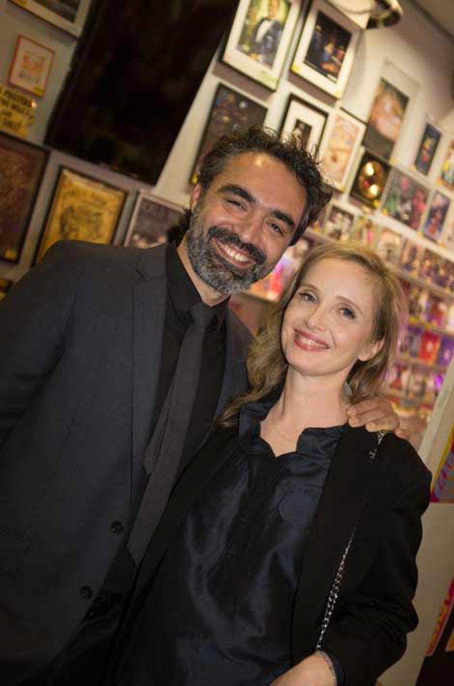 Julie Delpy et son mari