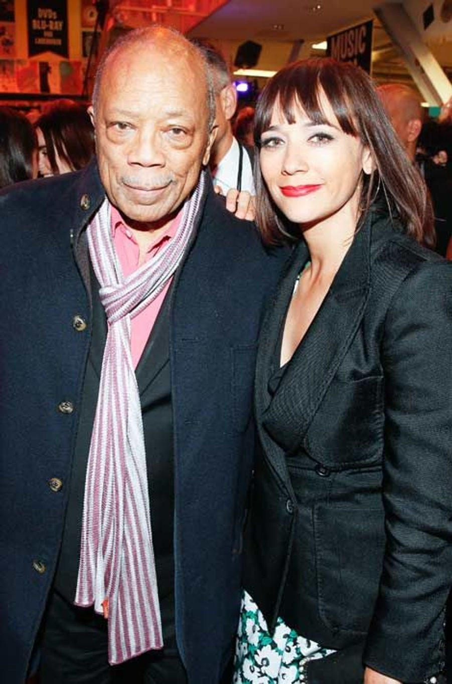 Quincy Jones et Rashida Jones