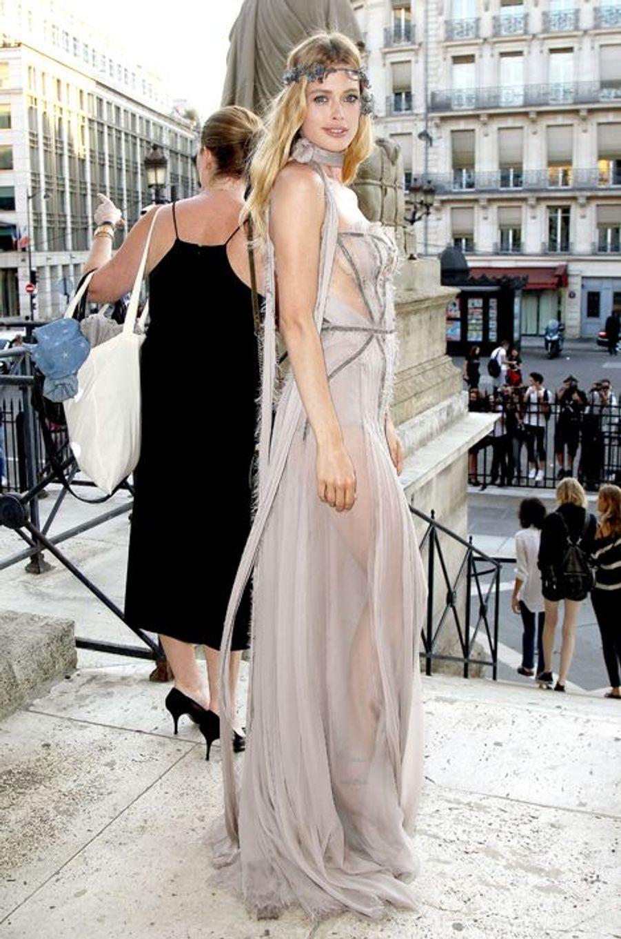 Doutzen Kroes à Paris le 5 juillet 2015