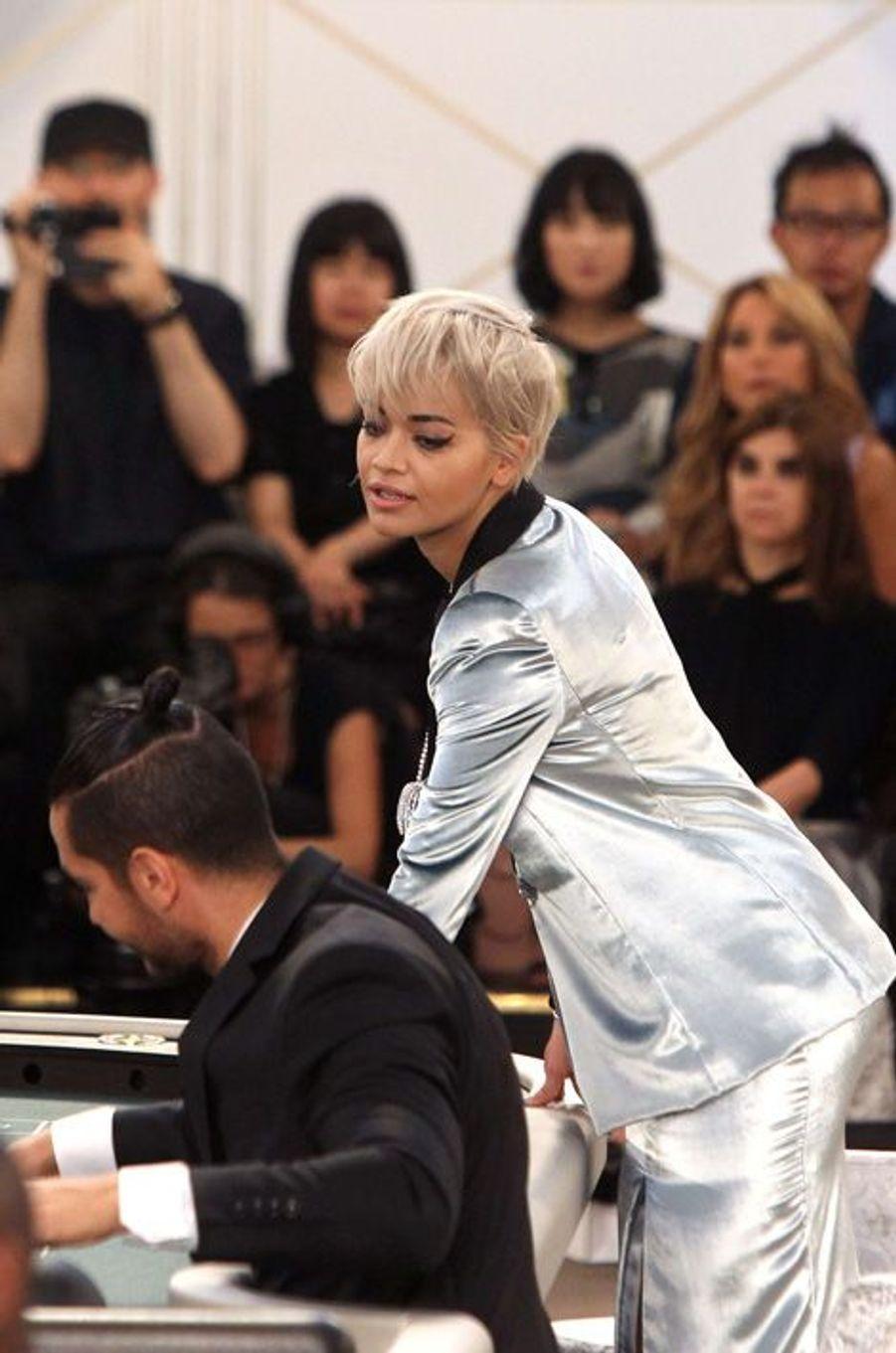 Rita Ora au défilé Chanel