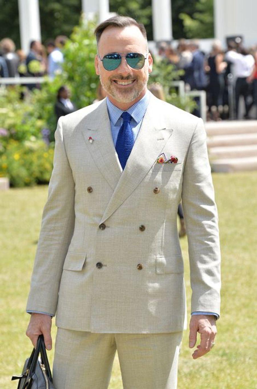 David Furnish à Londres le 15 juin 2015