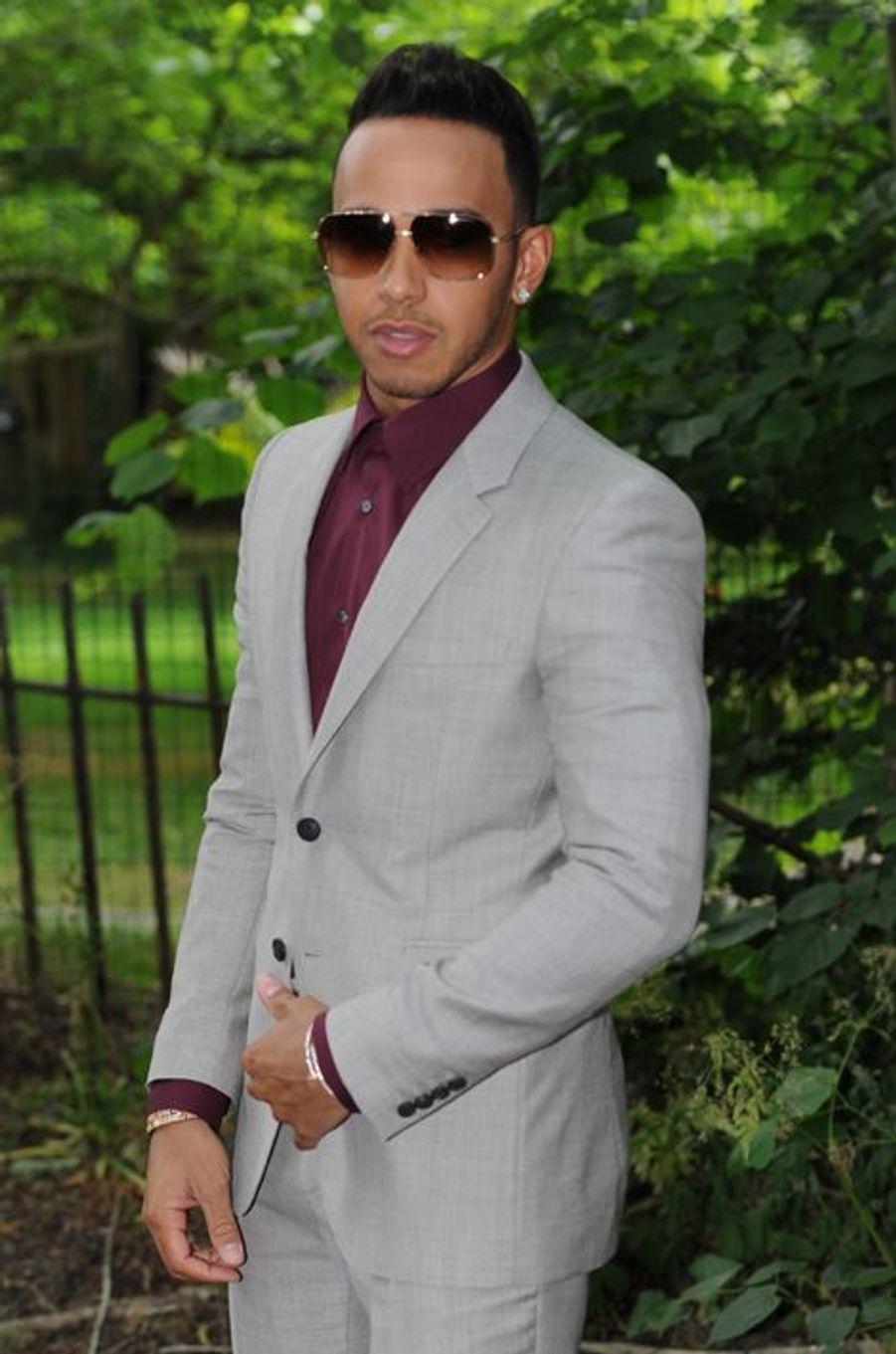 Lewis Hamilton à Londres le 15 juin 2015