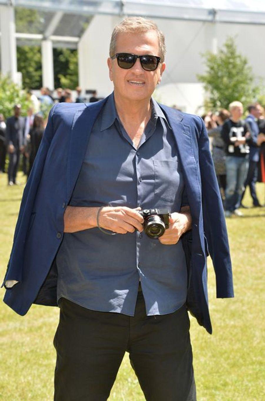 Mario Testino à Londres le 15 juin 2015