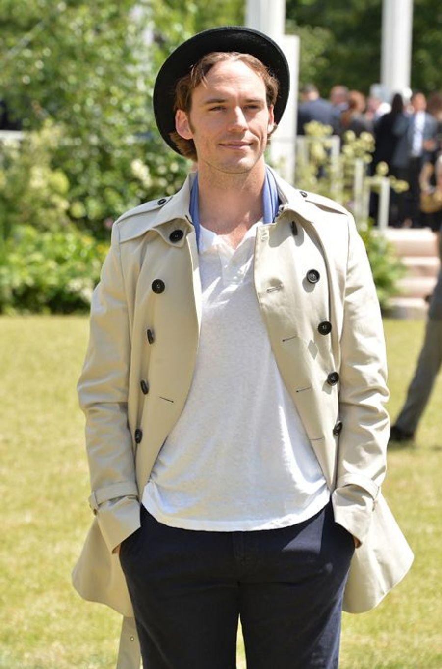 Sam Claflin à Londres le 15 juin 2015