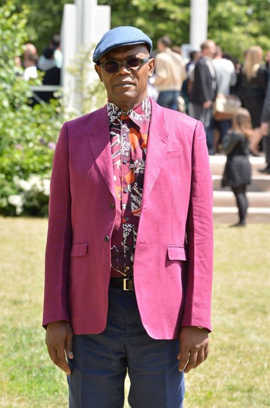 Samuel L. Jackson à Londres le 15 juin 2015