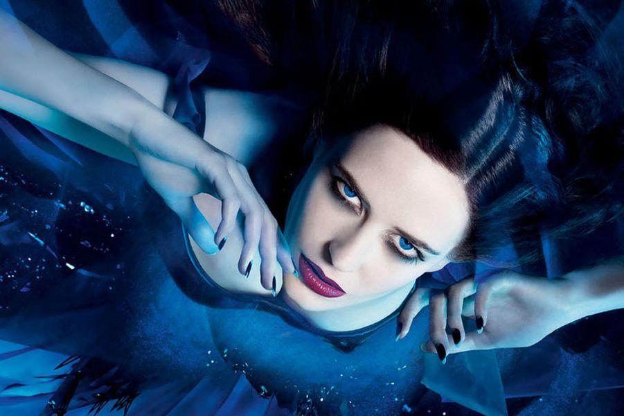 "Eva Green, égérie du parfum ""Midnight Poison"" en 2007"