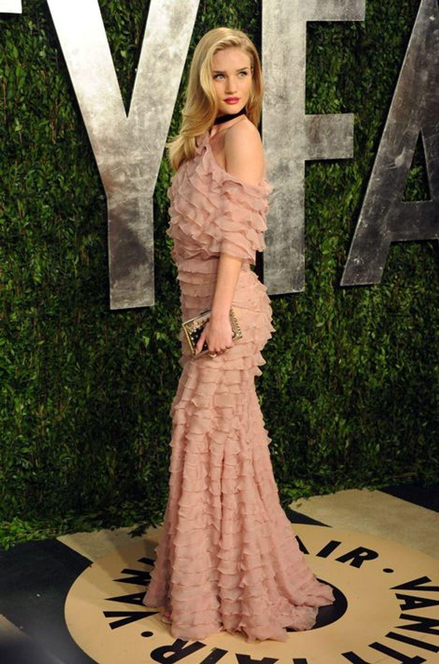 A la soirée Vanity Fair pour les Oscars 2013